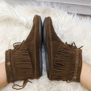 Minnetonka Ankle Bootie Moccasins